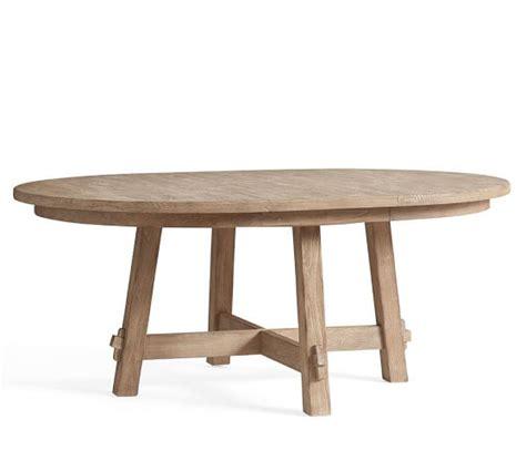 pottery barn toscana table toscana extending pedestal table seadrift pottery barn