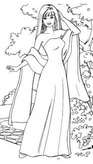 barbie coloring pages coloring pictures barbie