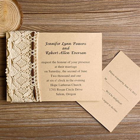 how to make wedding invitations out of cardstock lace wedding invitations at wedding invites part 2