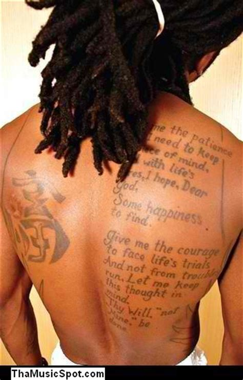 bible against tattoos lil wayne bible verse