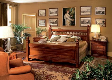 stylish solid wood bedroom furniture interior design