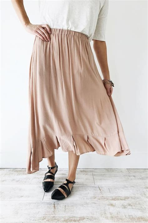8 Figure Loving Skirts For Summer by Blush Skirt Roolee The Style I