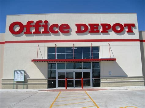 depot bureau office depot on zac lentz parkway to