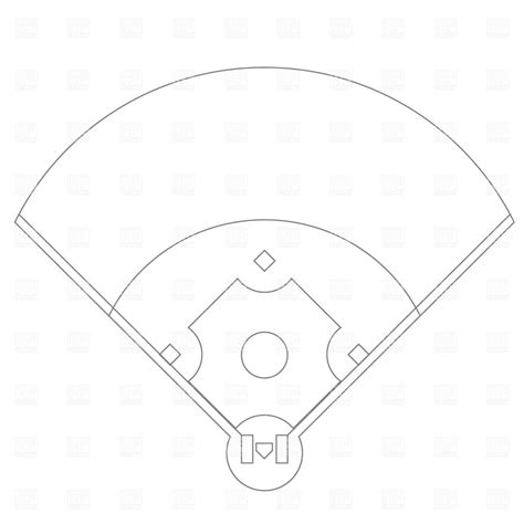 printable baseball field diagram baseball field clip free more at recipins sports