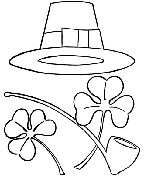 water pipe coloring pages coloring pages st patricks day coloring pages irish hat pipe and