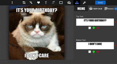 Meme Text Maker - online meme maker meme designer tool pizap