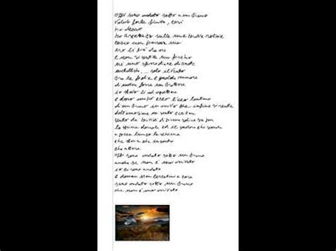 testo generale vasco sotto a un treno testo vasco musica angelini
