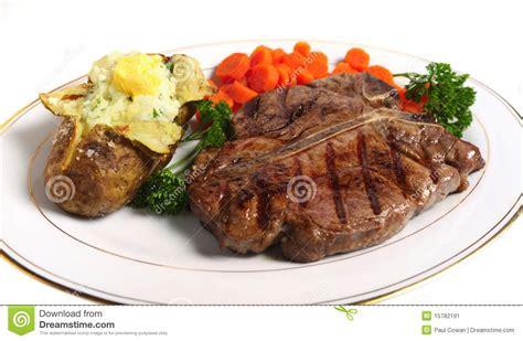 t bone steak carbohydrates t bone steak meal horizontal stock image image 15782191