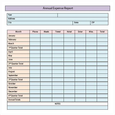 travel expense report template expense report templates 8 free documents in
