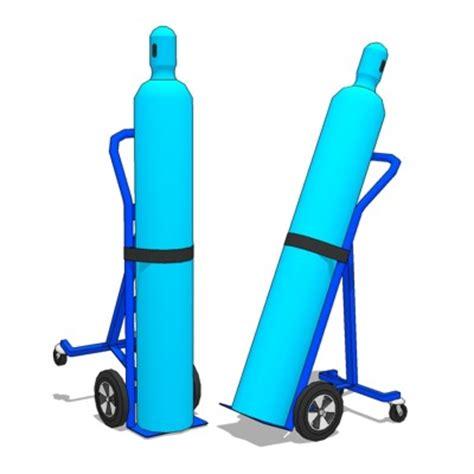 Gas Cylinder 3D Model FormFonts 3D Models & Textures