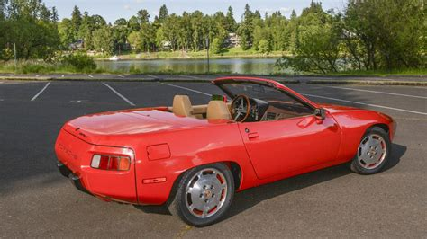 porsche prototype 2015 1981 porsche c928 convertible prototype s164 monterey 2015