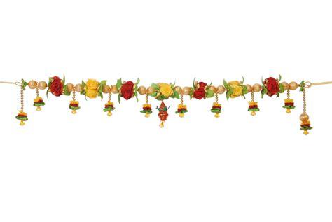 Home Decoratives Online Klassic Kraft Rose Toran Online Shopping