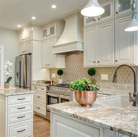 white island kitchen backsplash ideas iroonie com that arabesque backsplash is gorgeous kitchens dining