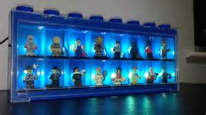 Display Cabinet Lego Lego Minifigure Display Powered By Arduino