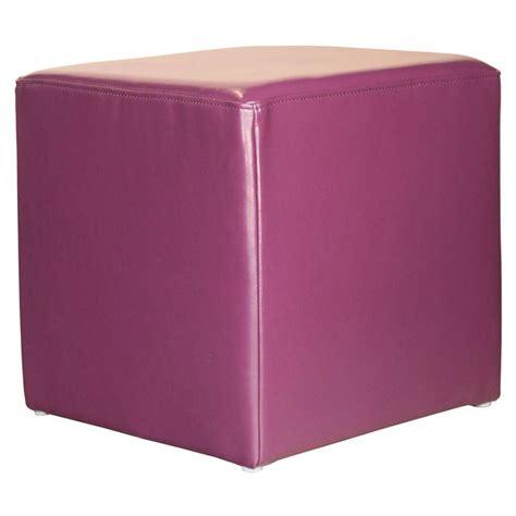ottoman purple elegant home fashions purple accent ottoman hdt1c1001