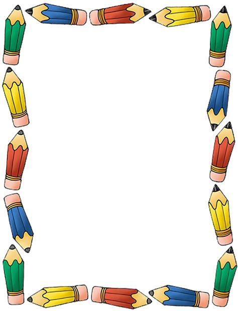 imagenes para trabajos escolares rayito de colores marcos escolares