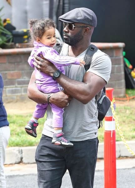 mike colter and family mike colter luke cage with his daughter at the farmer s