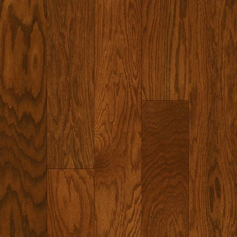 shop style selections oak hardwood flooring sle gunstock at lowes com