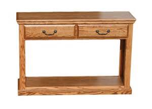 od o t247 traditional oak sofa table with 2 drawers oak