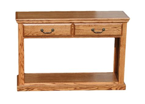 oak sofa table od o t247 traditional oak sofa table with 2 drawers oak