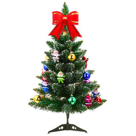 artificial christmas tree set with accessories ornaments