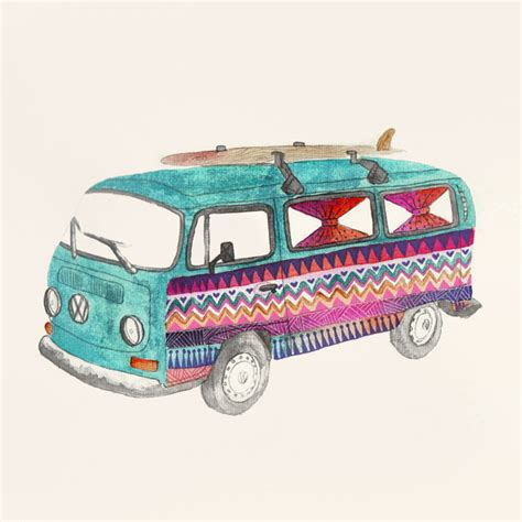 hippie volkswagen drawing hippie volkswagen drawing 28 images painted vw hippy
