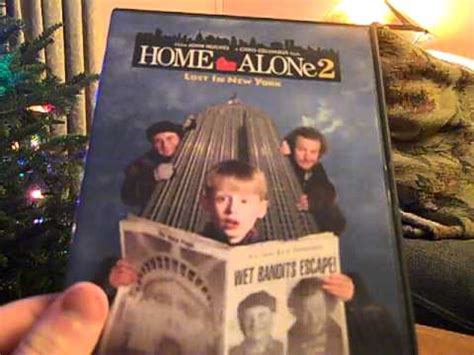 home alone 2 lost in new york dvd unboxing doovi