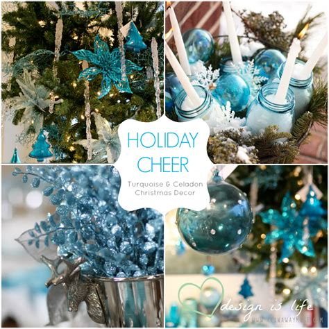28 best and turquoise christmas decorations turquoise