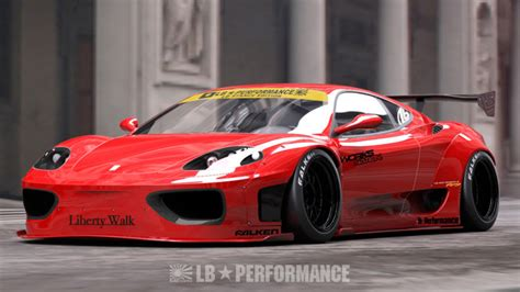 Used 2000 Porsche Boxster For Liberty Walk Stretches The Notion Of Ferrari S 360 And