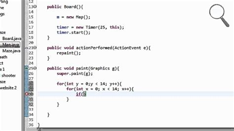tutorial java map java maze game tutorial 4 part 1 2 painting the map