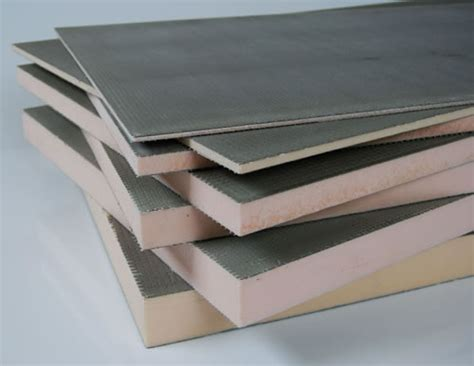 tile backer board 30mm insulation for tiles underfloor heating