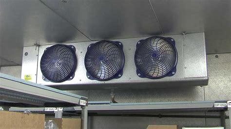 walk in cooler fan install energy efficient evaporator fan motors walk in