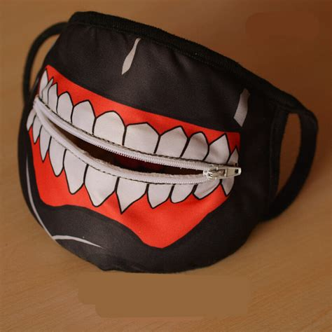 7 Cool Masks by Aliexpress Buy Tokyo Ghoul Zipper Masks Anime