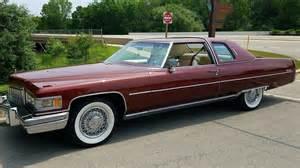 1976 Cadillac Coupe 1976 Cadillac Coupe 500 Ci Automatic Lot T24 1