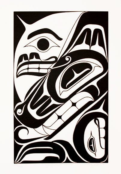 west coast native tattoo designs coastal peoples arts gallery graphics wolf and