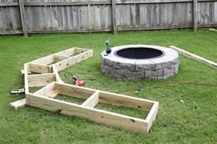 diy circle bench around your pit 1001 gardens