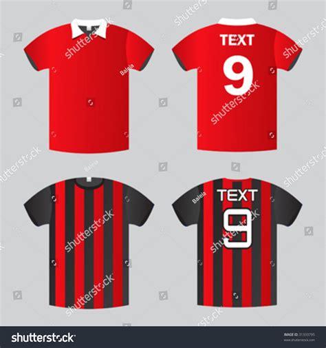 Football Tshirt Kaos football soccer shirt stock vector illustration 31333795