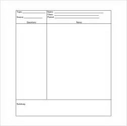 Note Taking Templates by Doc 1280759 Note Taking Template Microsoft Word