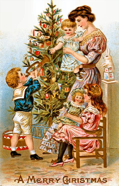 Design House Decor Etsy by Vintage Ephemera Victorian Christmas Card