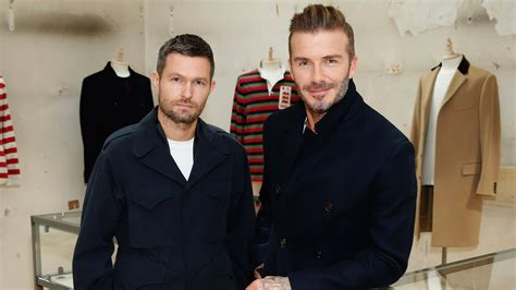 Beckham Makes Oxfam Fashionable by David Beckham Makes His Presence Felt At Kent Curwen