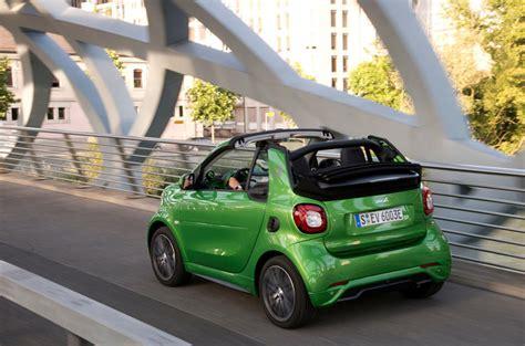 smart ed car smart fortwo cabriolet electric drive 2017 review autocar