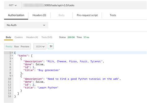 tutorial python api how to build a rest api with python linux blog