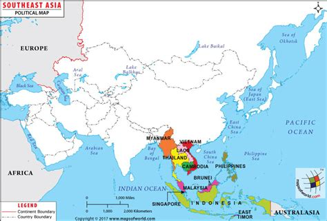 regional map of asia southeast asia map map of southeast asian countries