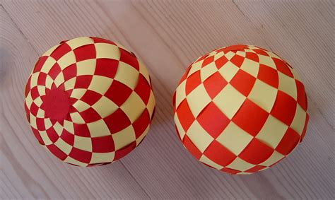 How To Make A Paper Sphere - 15 best photos of cut out 3d paper paper spiral