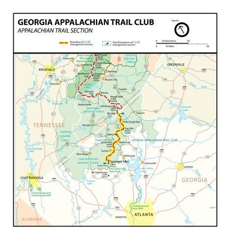 appalachian trail georgia section join the georgia appalachian trail club bucket list