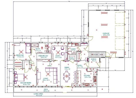 Reading Plumbing Blueprints by Building An Eco Home Floor Plans Part 5