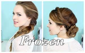 from frozen hairstyle elsa s hairstyles from frozen youtube
