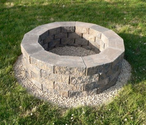 How To Build A Diy Fire Pit How To Build A Backyard Pit Cheap