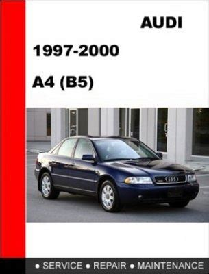 how to download repair manuals 1997 audi a4 user handbook auto manuals services repair