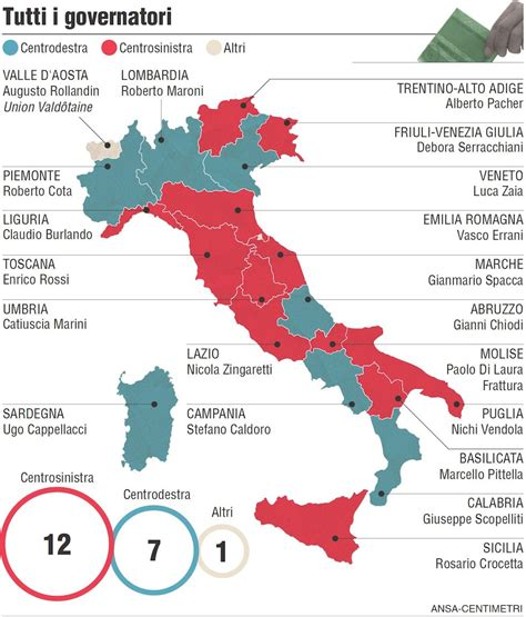 presidenti d italia tutti i presidenti di regione in italia il post